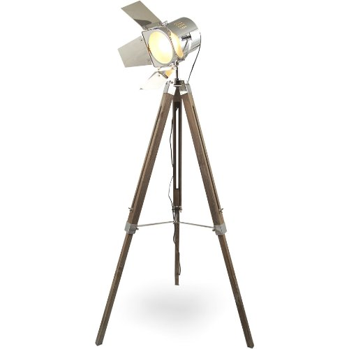 Hollywood Tripod Stehlampe